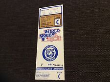 1984 World Series Ticket Detroit Tigers CLINCHER San Diego Padres G5