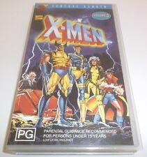 X-MEN FEATURE LENGTH VOLUME 3 VHS VIDEO MARVEL COMICS