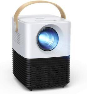 "Apeman LC450 LED Mini Beamer 1080P FHD Projektor 50000 Stunden LED 180"" Display"
