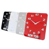 Roco Verre Acrylic Gloss Personalised Custom Time Zone World Wall Clock