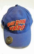 VINTAGE SNAPBACK CAP / HAT - BAR ROOM HERO WITH BOTTLE OPENER BRIM, COTTON