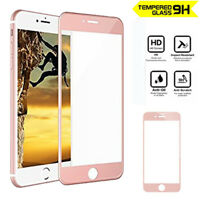 Genuine Full Tempered Glass Screen Protector for Apple iPhone 8 Rose Gold