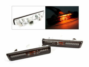 For BMW E38 95-01 7Series Sedan Side Marker Repeater Lights Lamps SMOKE