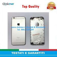 BACK COVER SCOCCA POSTERIORE ARGENTO RICAMBIO PER IPHONE 6S PLUS SILVER TOP