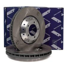 SEBRO Bremsscheiben für PORSCHE PANAMERA (970) 4.8 GTS + 4.8 Turbo / S vorne