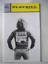 DUDE Playbill NELL CARTER / RALPH CARTER / GALT MacDERMOT Flop NYC 1972