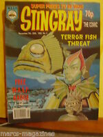 RARE STINGRAY WASP MAGAZINE 1992 # 3 MARINA  TERROR FISH MARINEVILLE