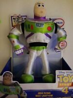 NIP Just Play- Disney Pixar Toy Story 4 High Flying Buzz Lightyear Talking Plush