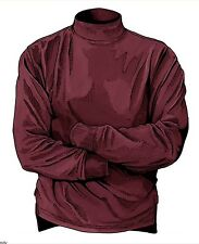 New Sealed XL Men's Duluth Trading Co. Burgundy Longtail T Mock Turtleneck 98707