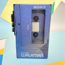 Retro 1980s SONY STEREO WALKMAN WM-4  STEREO CASSETTE PLAYER Refurbished