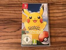 Pokemon Let's Go Pikachu Nintendo Switch Original Case Only