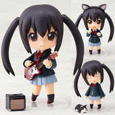 K-ON Nakano Azusa 104# change face Nendoroid Action Figure anime Toy