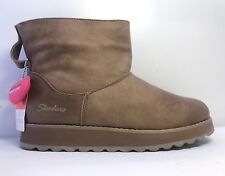 Skechers Womens Keepsakes Mid Taupe Ankle Boots Uk Size 3