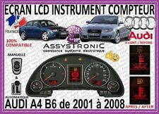DISPLAY LCD INSTRUMENT CLUSTER *** AUDI A4 B6 B7 FROM 2001 TO 2008 *** QUICKLY