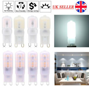 1/20pcs LED G9 Cool White Capsule Bulb Replace Halogen Light Bulb 3W 5W 8W Lamps