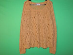 Maurices Womens Size 1 Long Slv Crewneck Sweater
