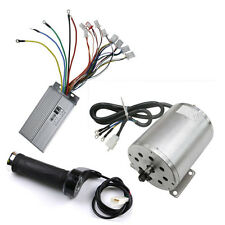 48V 1800W Electric Brushless Motor+Controller +Throttle Grip ATV Go Kart Scooter