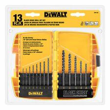 DeWalt  Black Oxide  Drill Bit Set  13 pc.