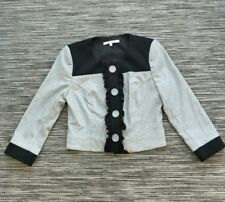 Review Jacket Black & White Size 8