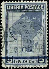 Liberia Scott #290B Used