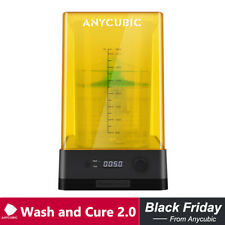 ANYCUBIC Wash and Cure Machine 2.0 for SLA LCD Resin 3D Printer Big Curing Size