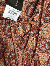 Dorothy Perkins Short Sleeve Blouse/ Shirt Size 10