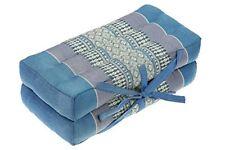 Foldable Meditation Cushion filling 100% Kapok (light-blue)
