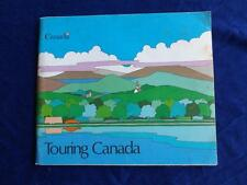 TOURING CANADA TRAVEL INFORMATION BOOK OFFICE TOURISM POINTS OF INTEREST MAPS