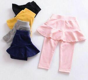 Autumn Trousers Kids Leggings For Girls Skirts Pants Children Clothings Toddlers