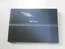 Manuale uso e manutenzione Kia Rio edizione 2003  [3500.14]