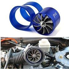 Supercharge Turbo Single Jet Blade Tornado JDM Blue Eco Gas/Fuel Saver Fan Kit