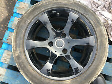 SMART CAR ALLOY WHEEL AND TYRE 195/50R15 REF 081747 RED
