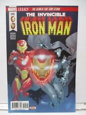 Invincible Iron Man #595 - Marvel Legacy 2017 Series