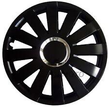 16'' Wheel trims Hub Cups fits Vauxhall Astra Zafira Vectra Vivaro  4x16'' black