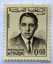 MAROC 1962-65, timbre 437 , 5 Centimes  ROI HASSAN, neuf