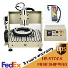 USB CNC 4 Axis 3040 Router Engraver 800W PVC DIY Metal Milling Cutter+Controller