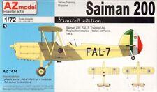 AZ Models 1/72 Saiman 200, Italian Af, USAAF, le # 74074