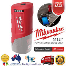 Milwaukee M12PP-0 12V Li-ion Cordless GEN 2 M12 USB Port Power Source Skin Tools