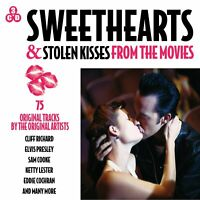 Sweethearts & Stolen Kisses - From The Movies - 75 Original Tracks 3CD NEW