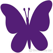 36 PURPLE BUTTERFLY STICKERS DECALS for Car | Wall | Home