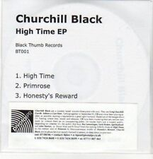 (AY44) Churchill Black, High Time EP - DJ CD