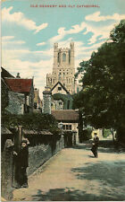 ELY ( Cambridgeshire) : Old Deanery and Ely Cathedral- IXL