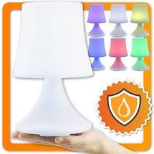 LED Tischlampe mit Akku Lampe Nachttischlampe Tischleuchte Outdoor Farbwechsel
