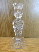 Kerzenständer Bleikristall geschliffen Schleuderstern H16,5cm