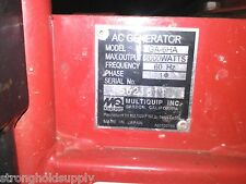 Used 18325ZB4000 PROTECTOR FOR MULTIQUIP GA-6HA  -ENTIRE PICTURE NOT FOR SALE