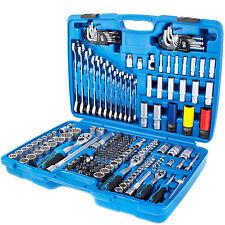 Steckschlüssel Satz Steckschlüßelkasten Ratschenkasten Werkzeugkoffer 1 4 3 8 2