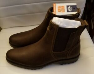 Brand New In Box Dockers Sanders Brown leather Waterproof Boots Men's 11.5 M US