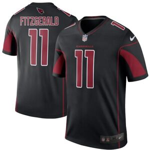New Arizona Cardinals Larry Fitzgerald Nike Color Rush Legend Edition Jersey NWT