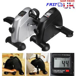 Mini Exercise Bike Arm Leg Resistance Cycle Pedal Exerciser Workout Seat Fitness