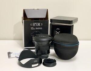 IRIX 15mm f/2.4 Blackstone Lens for Canon EF IL-15BS-EF (Canon)